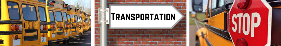 transportation web banner