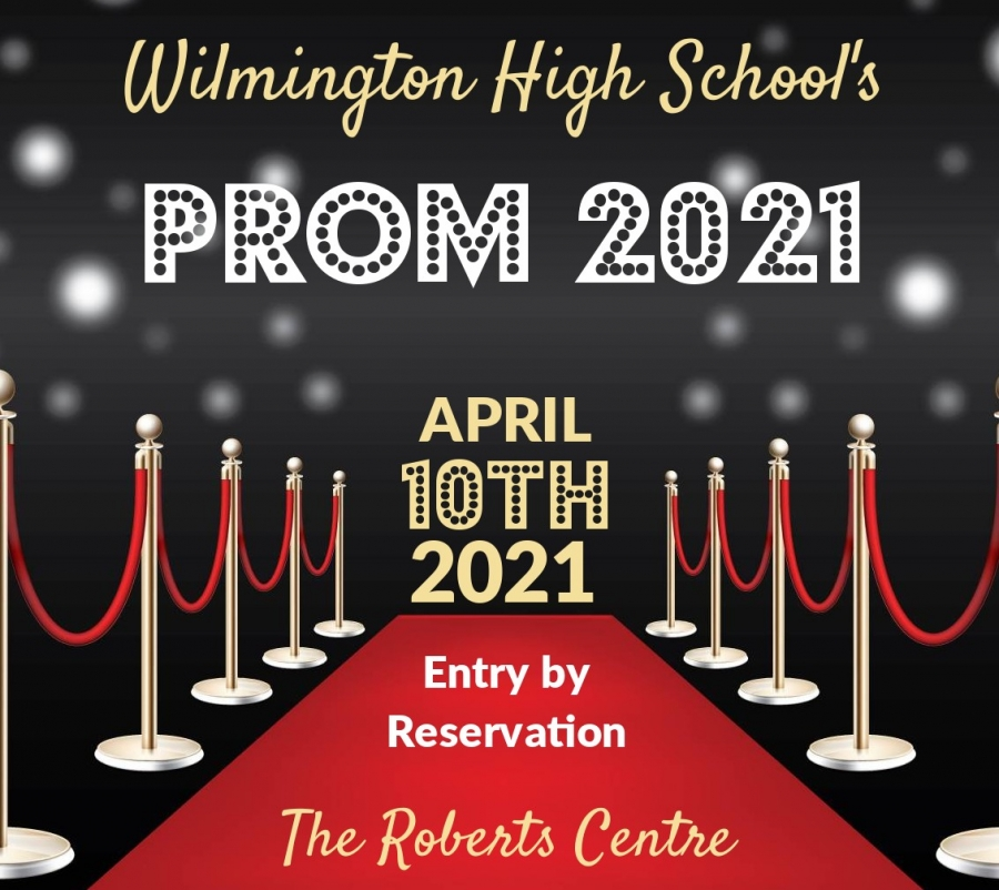 WHS prom 2021 April 10th 2021 at the Roberts Centre