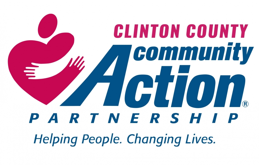 Logo Clinton County Community Action  - links to CCCAP flyer