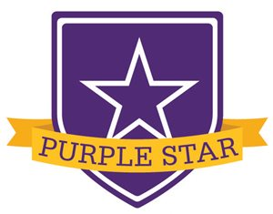 Ohio Department of Education Purple Star Award icon