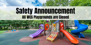 school playgrounds are closed