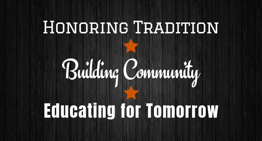 tradition community education tagline